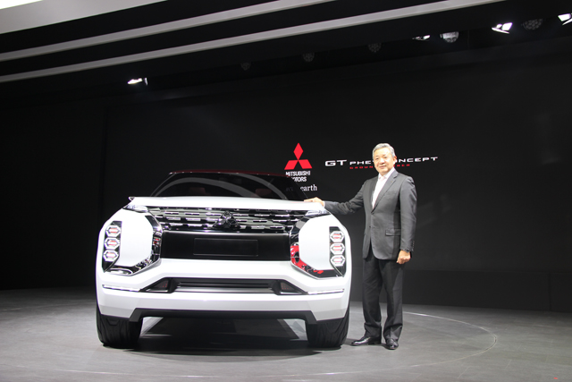 三菱汽车发布全新电动概念车和SUV概念车高清图片